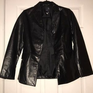 GAP AUTHENTIC vintage shell 100% leather jacket